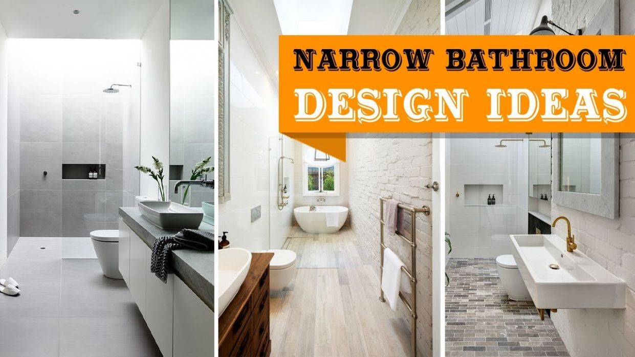 8+ Long Narrow Bathroom Design Ideas - bathroom ideas long and narrow