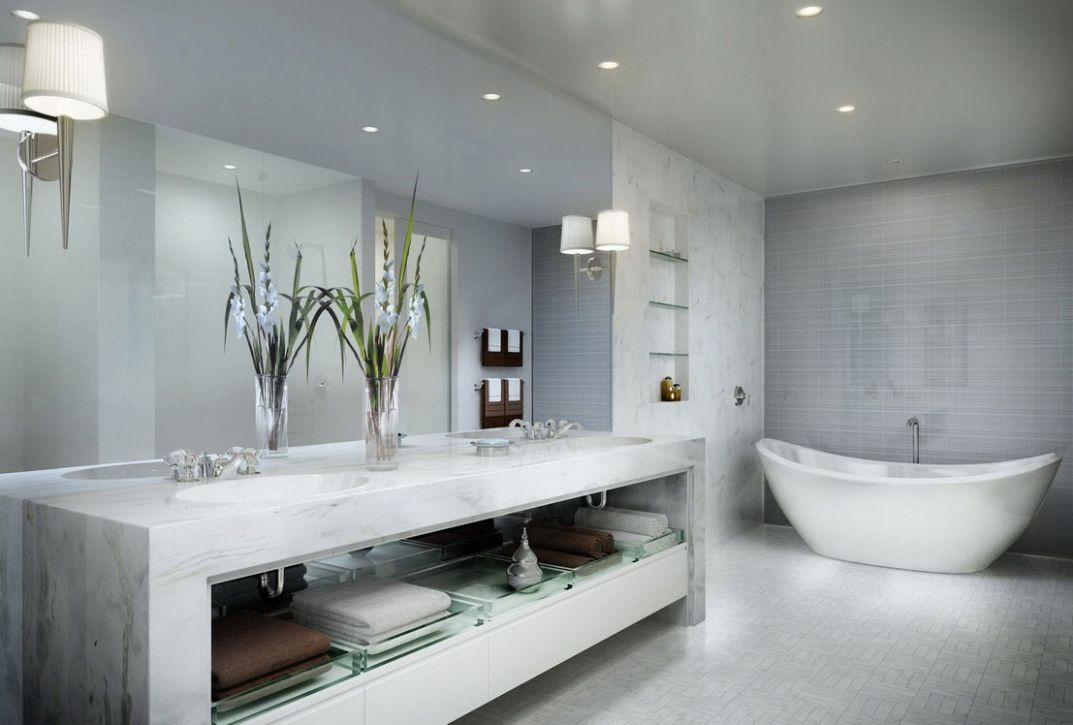 8 Luxury Bathroom Pictures to Inspire You - Alux.com