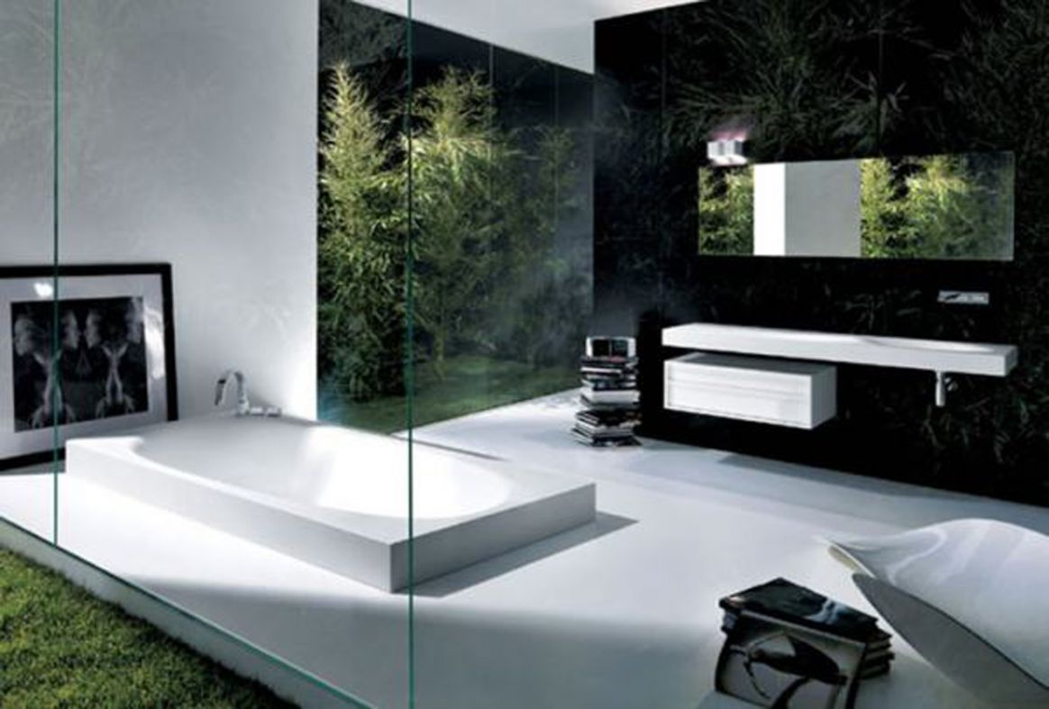 8 Modern Luxury Bathrooms Designs