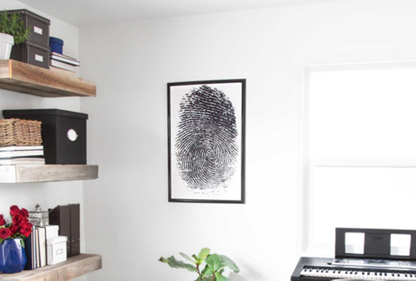 8 Office Wall Art Ideas For An Inspired Workspace | Shutterfly - home office artwork ideas