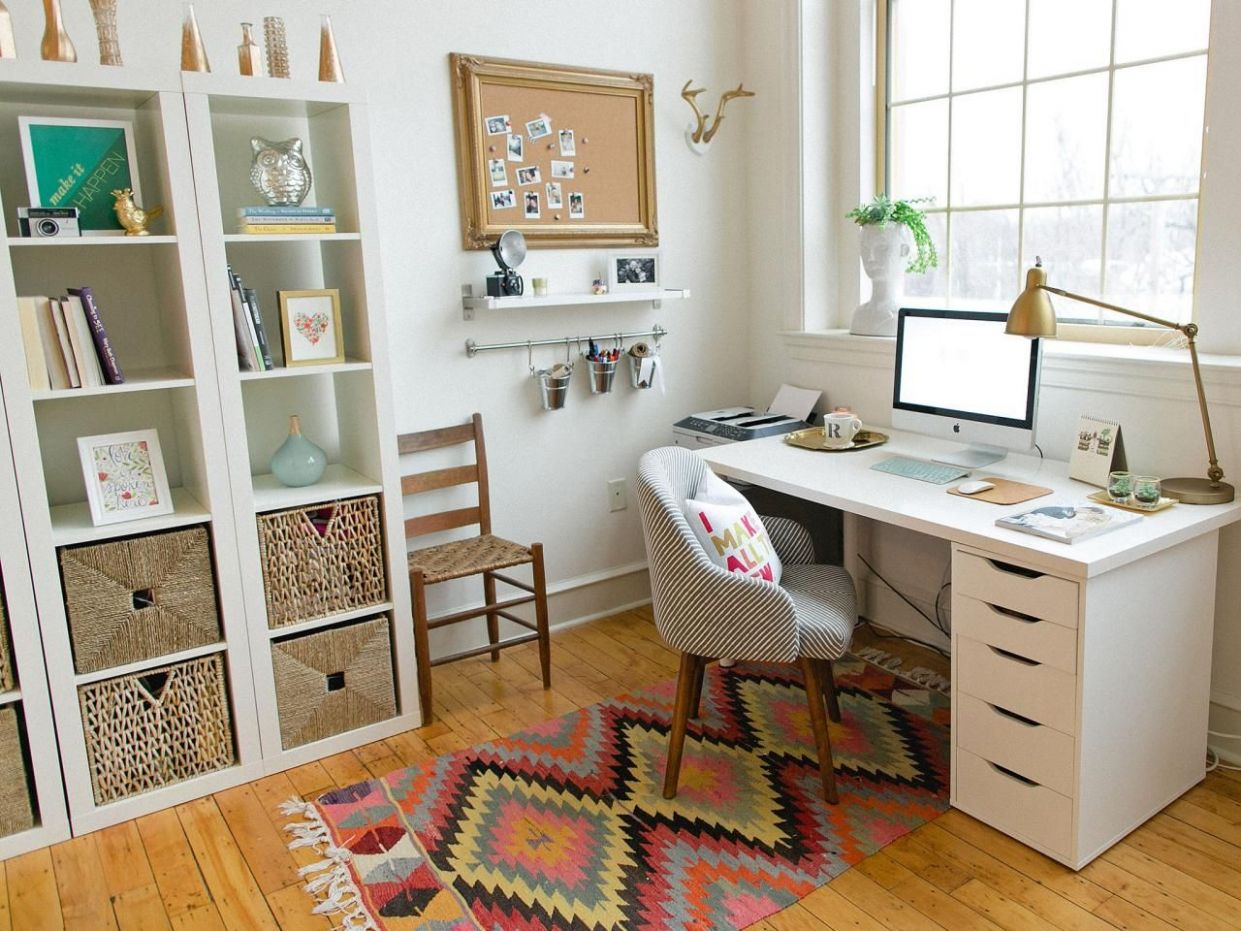 8 Pictures of Organized Home Offices | Home Remodeling - Ideas ...