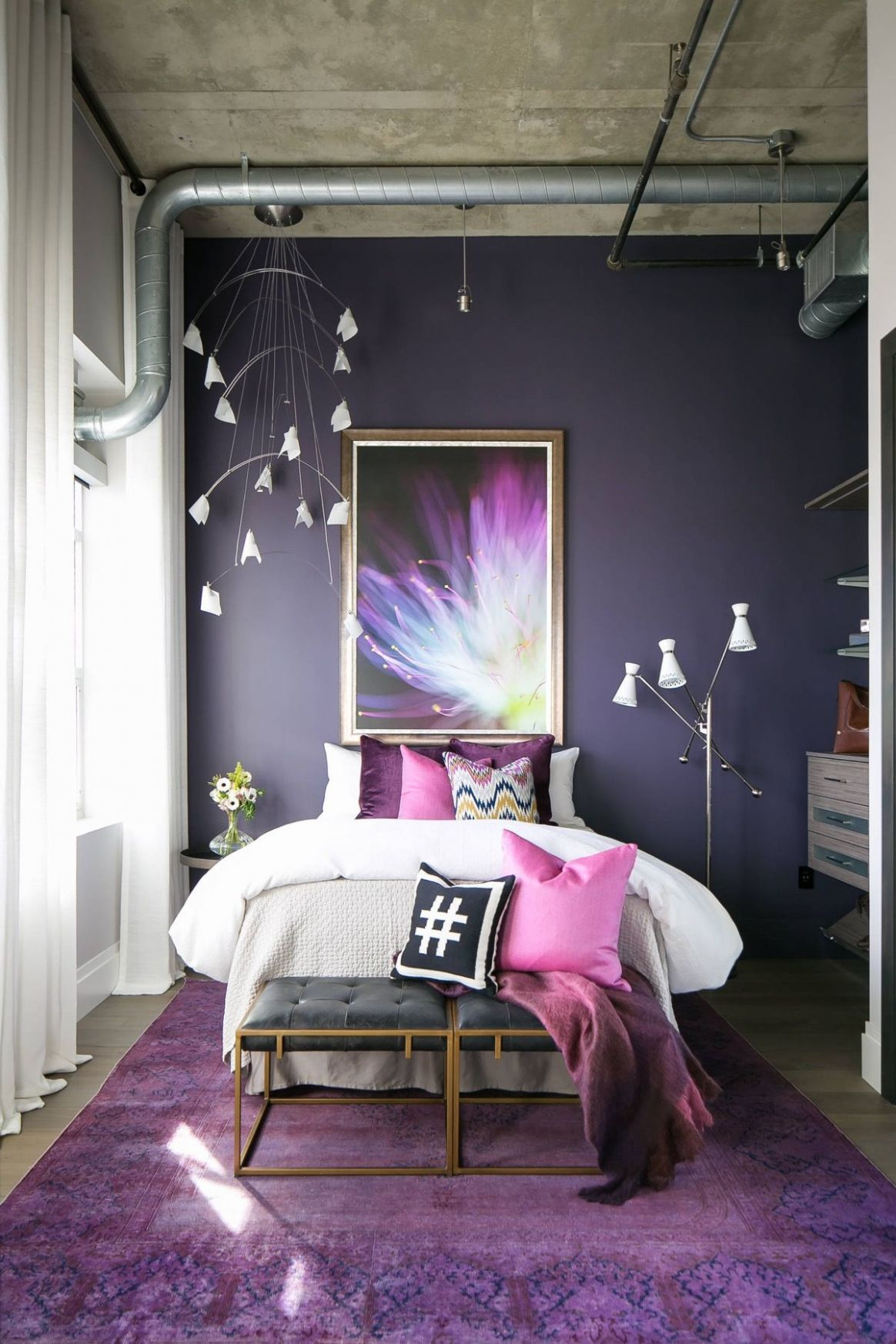 8 Purple Themed Bedrooms With Ideas, Tips & Accessories To Help ..