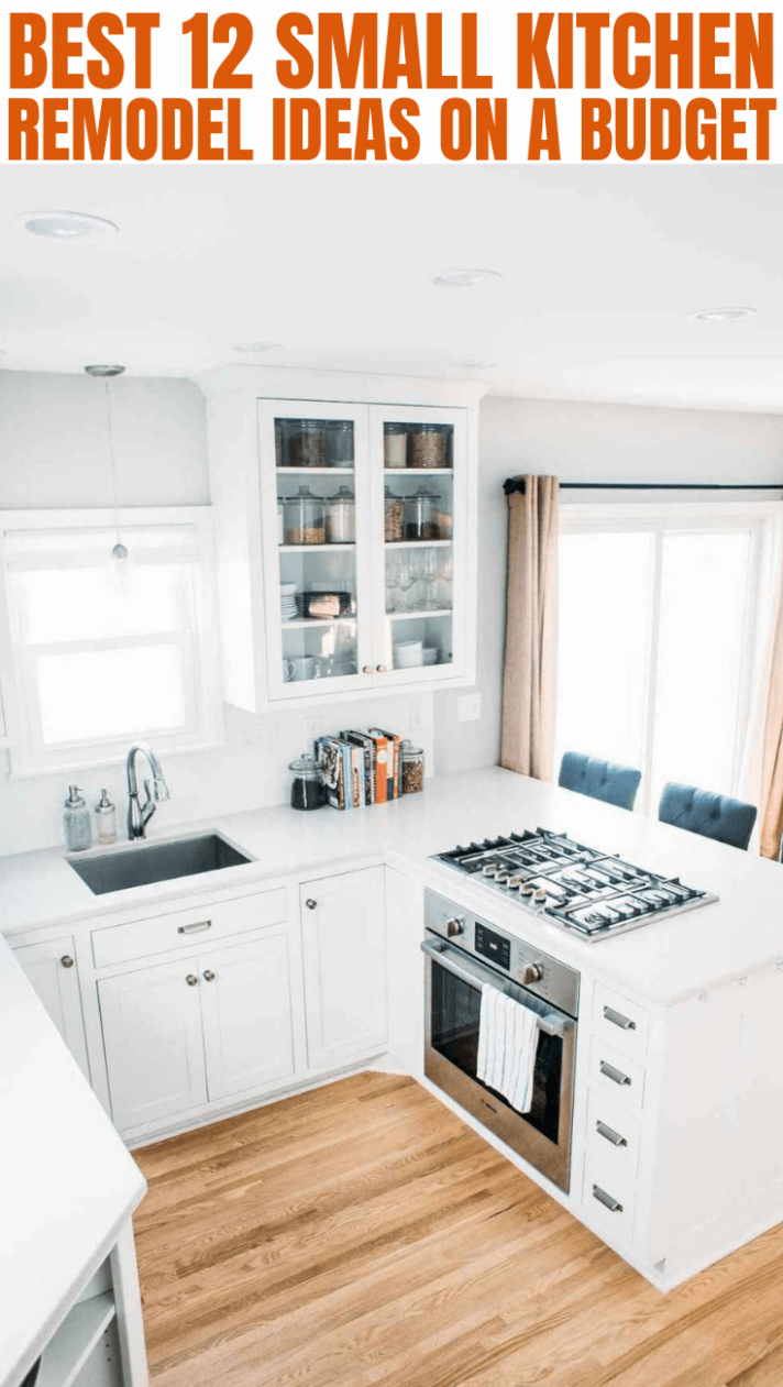 8 Small Kitchen Remodel on a Budget | Small Kitchen Guides