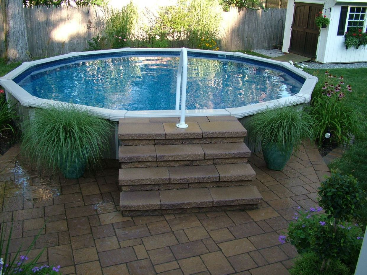 8 Spectacular Above Ground Pool Ideas You Should Steal (With ..