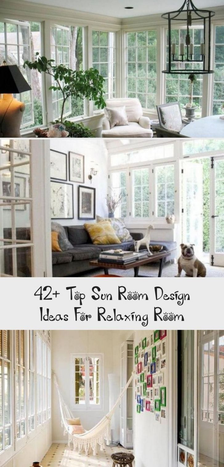 8+ Top Sun Room Design Ideas For Relaxing Room | Relaxation room ...