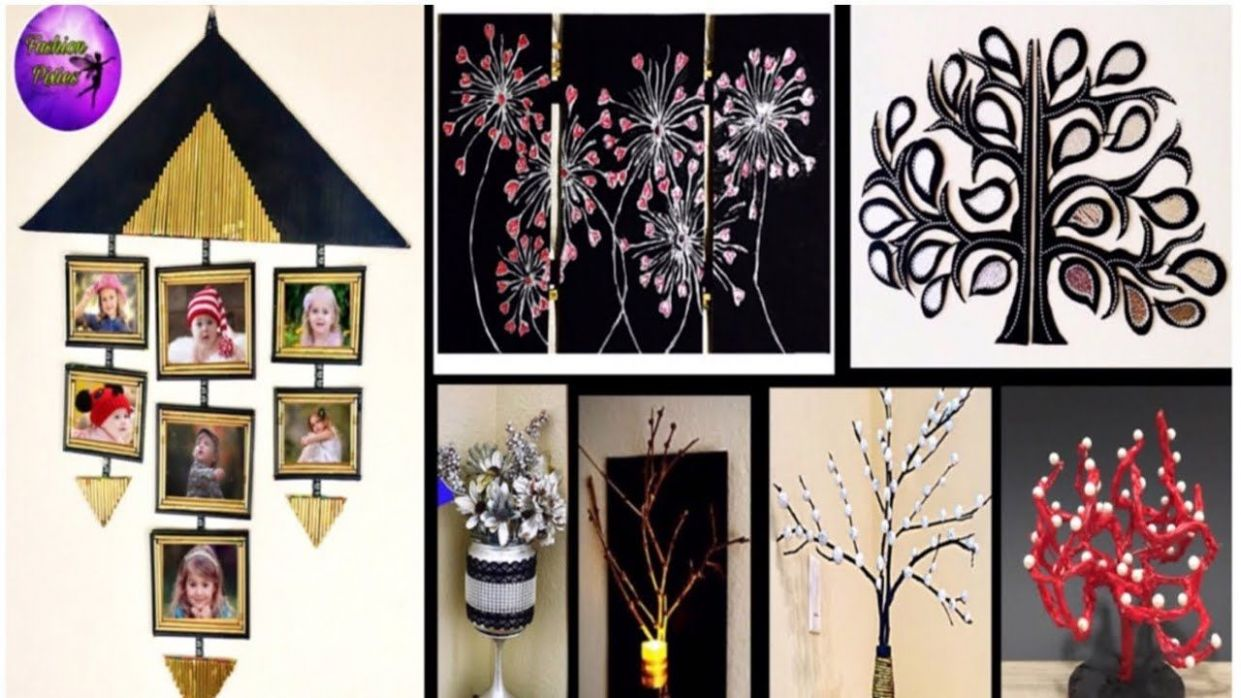 8 waste material crafts ideas | Room Decor | Do it yourself ...