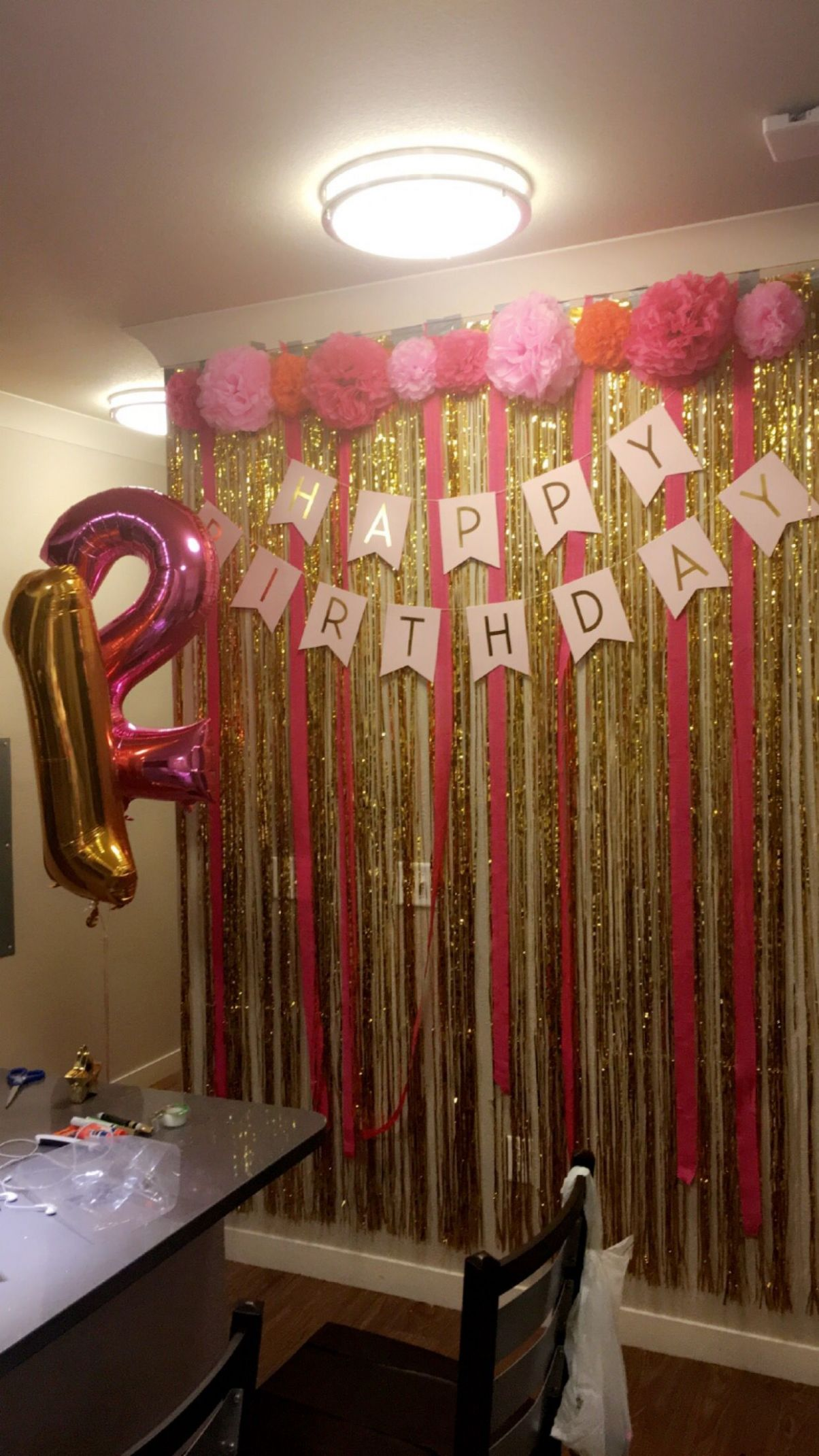 8st birthday wall all bought entirely on Amazon (Pinterest ..