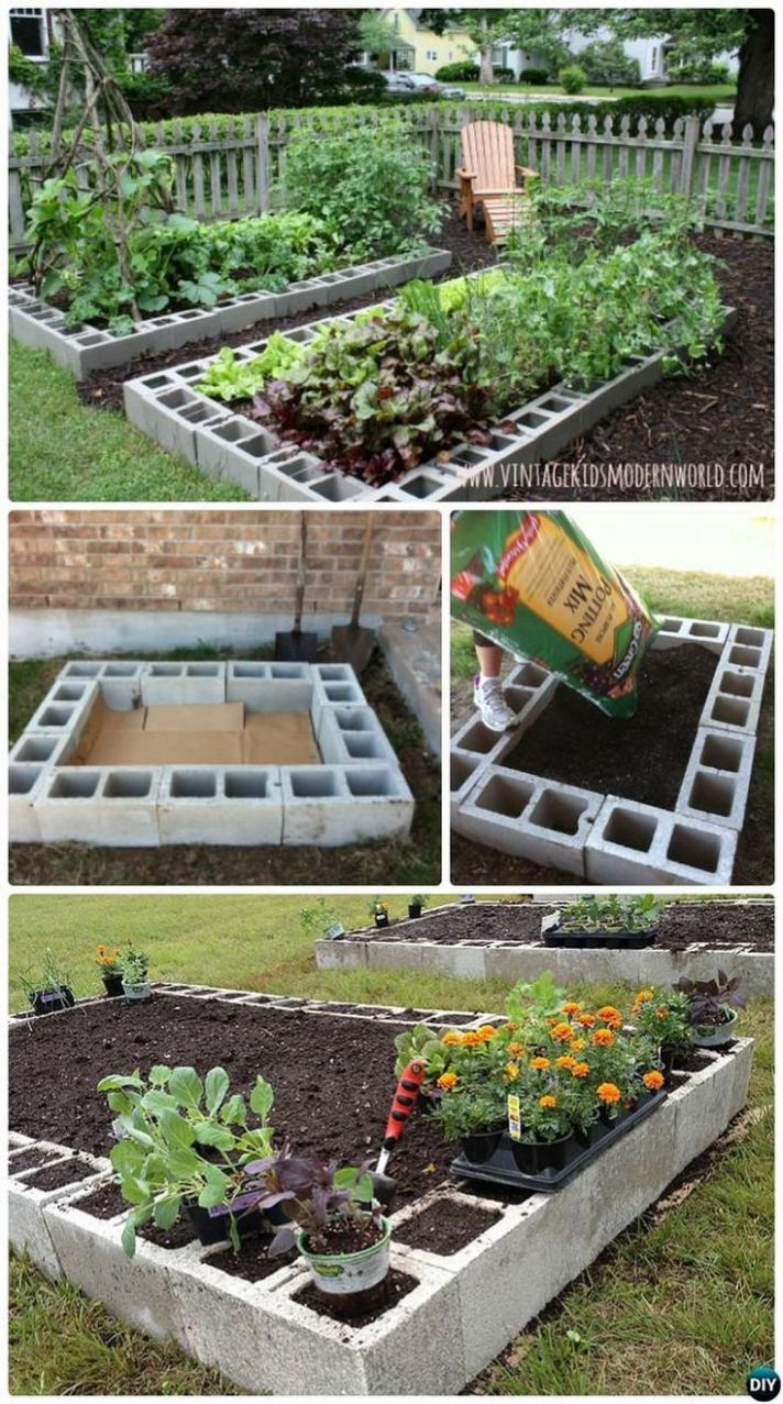 9 Affordable Backyard Vegetable Garden Designs Ideas | Hinterhof ..