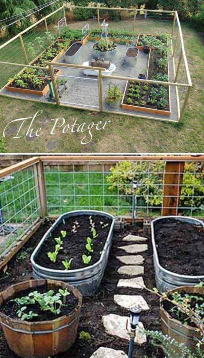9 Affordable Backyard Vegetable Garden Designs Ideas | Vegetable ..