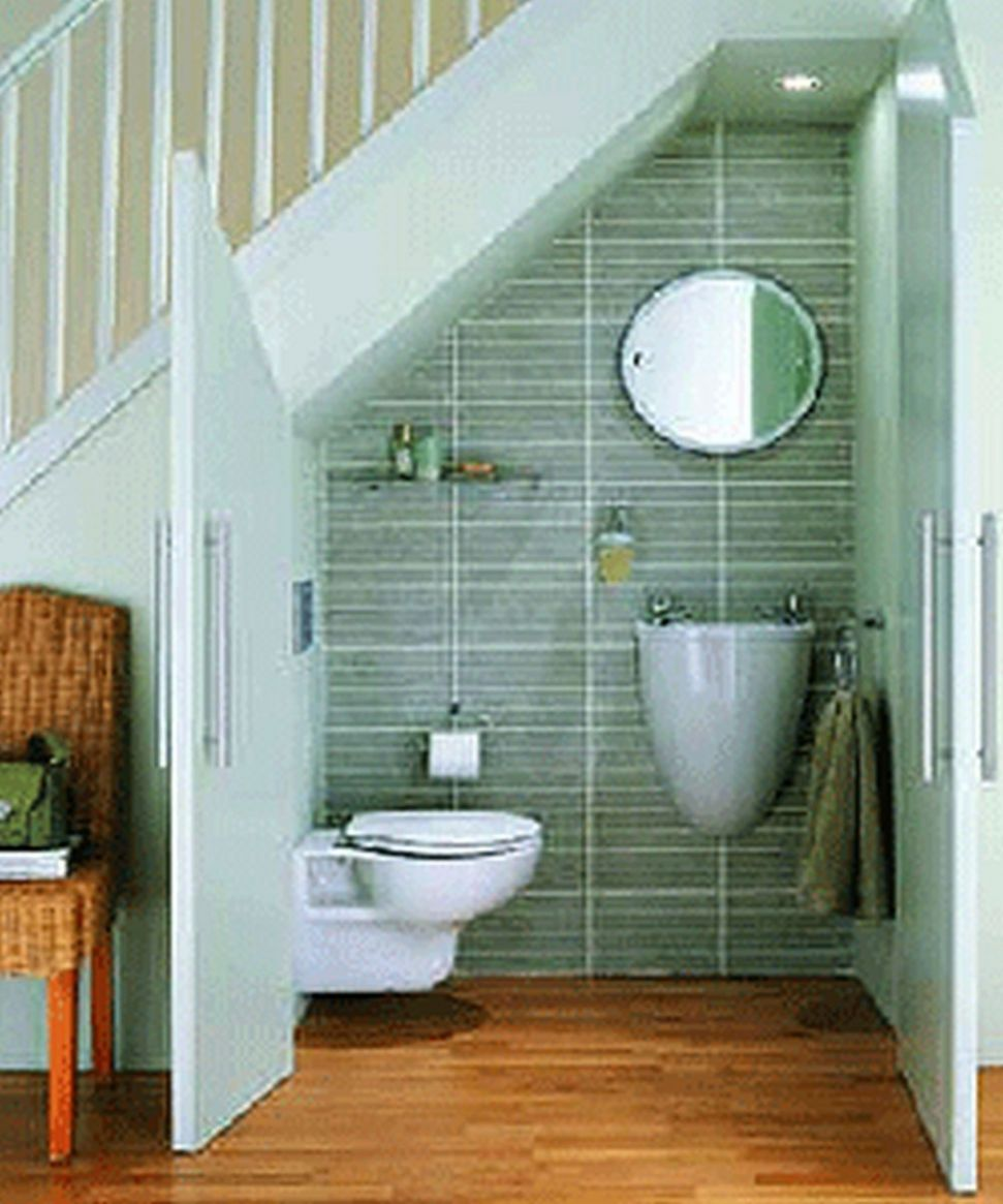 9 Artistic Bathroom Remodel Ideas Small Space Under Stairs Design ..