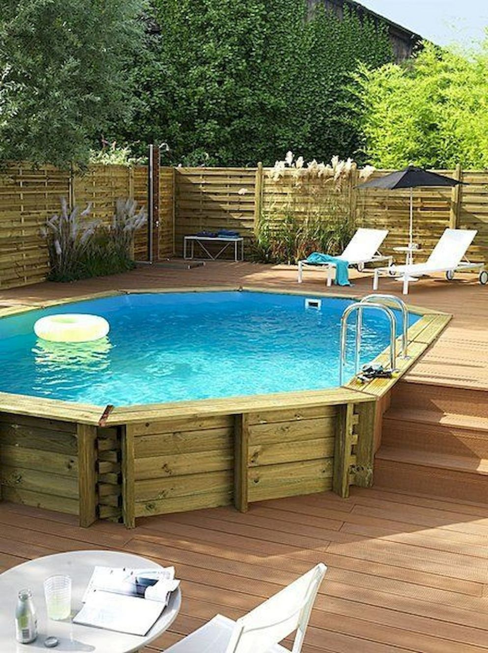 9+ Awesome Above Ground Pool Ideas #Above #Awesome #Ground #ideas ..