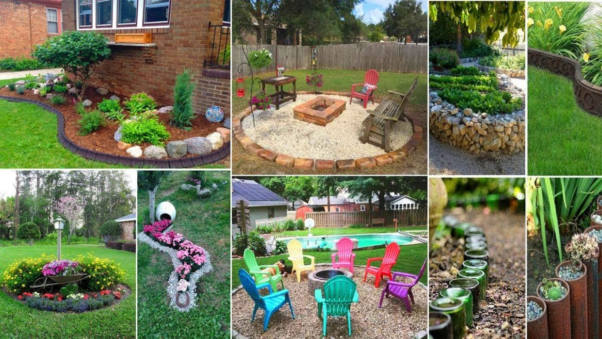 9 AWESOME AND CHEAP LANDSCAPING IDEAS | DIY Garden