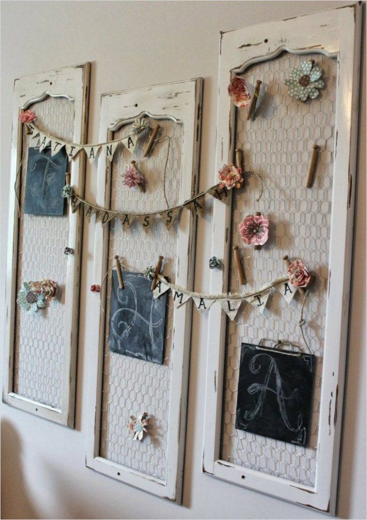 9 Awesome Shabby Chic Wall Decorating Ideas | Shabby chic zimmer ...