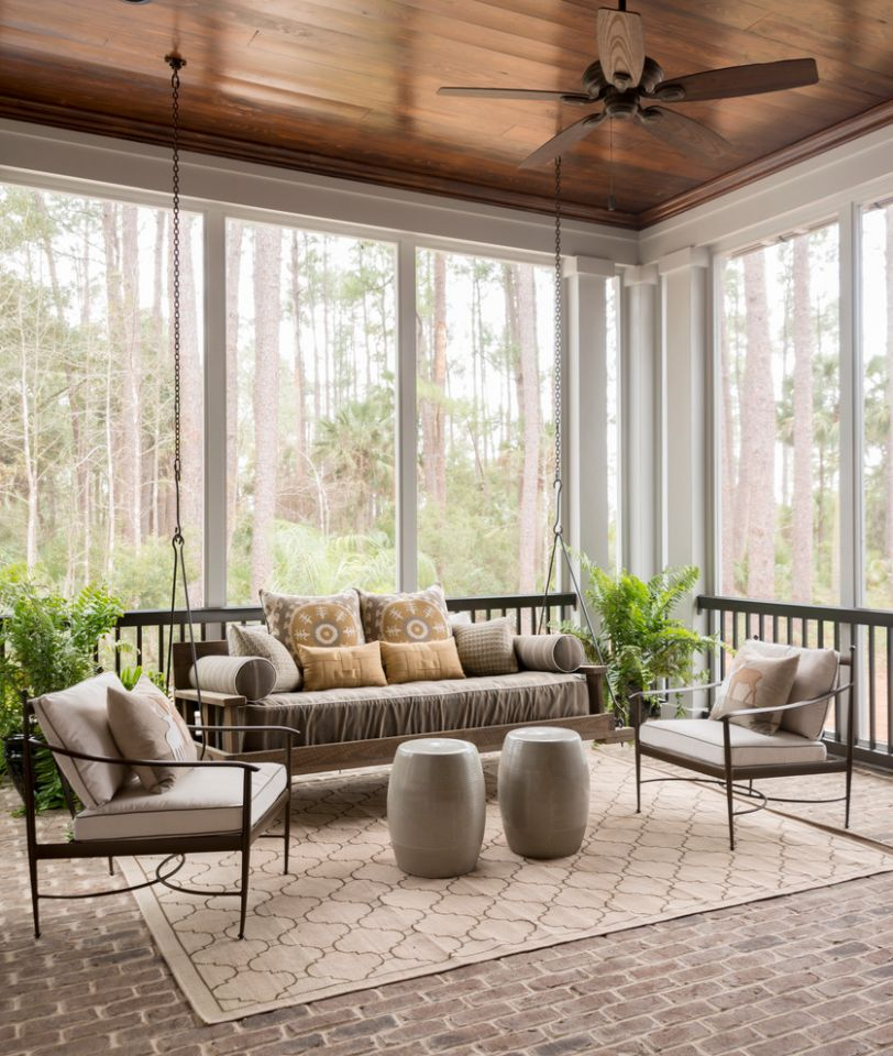 9 Awesome Sunroom Design Ideas - zen sunroom ideas
