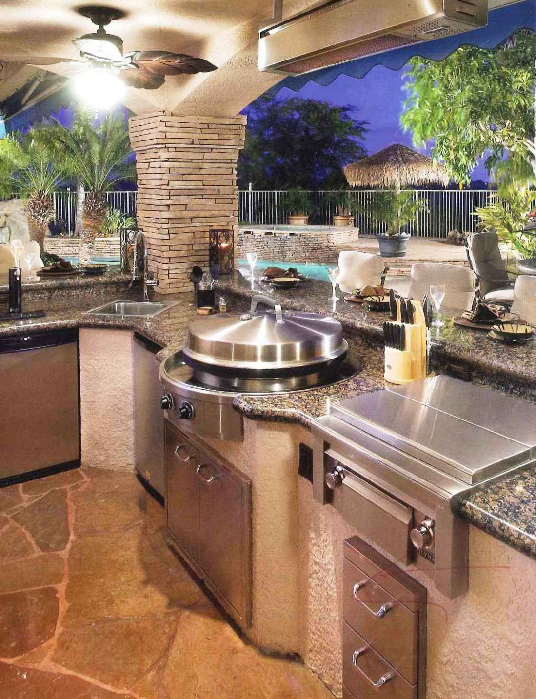9 Awesomely clever ideas for outdoor kitchen designs | Outdoor ..
