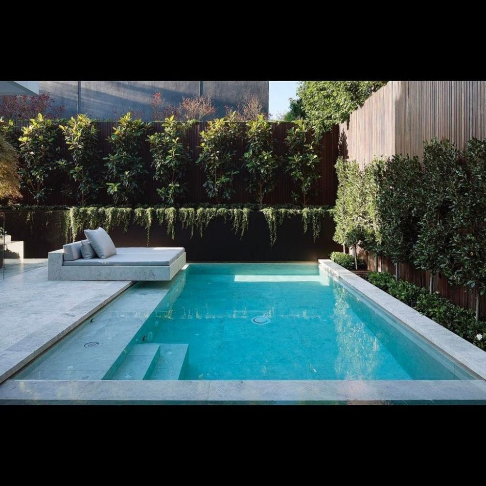 9 Beautiful Natural Swimming Pool Ideas For Your Home Yard - DECORGAN - pool ideas to