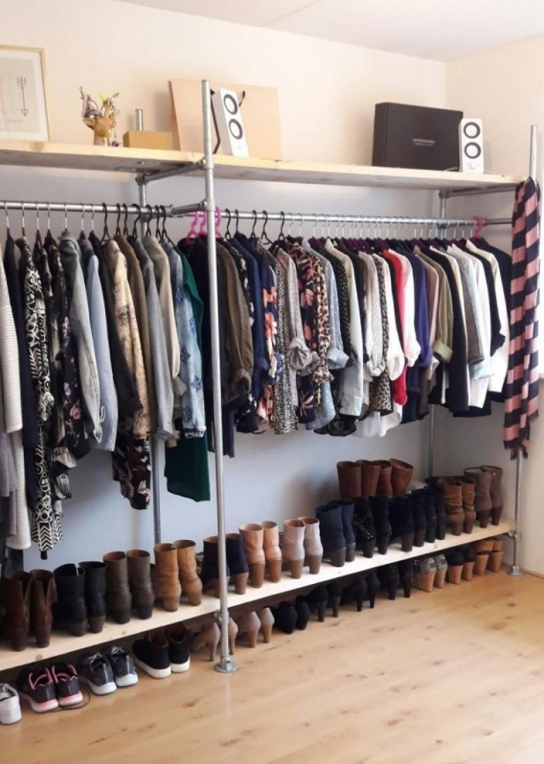 9 Beautiful Open Closet Ideas For Sophisticated Home | Bedroom ...