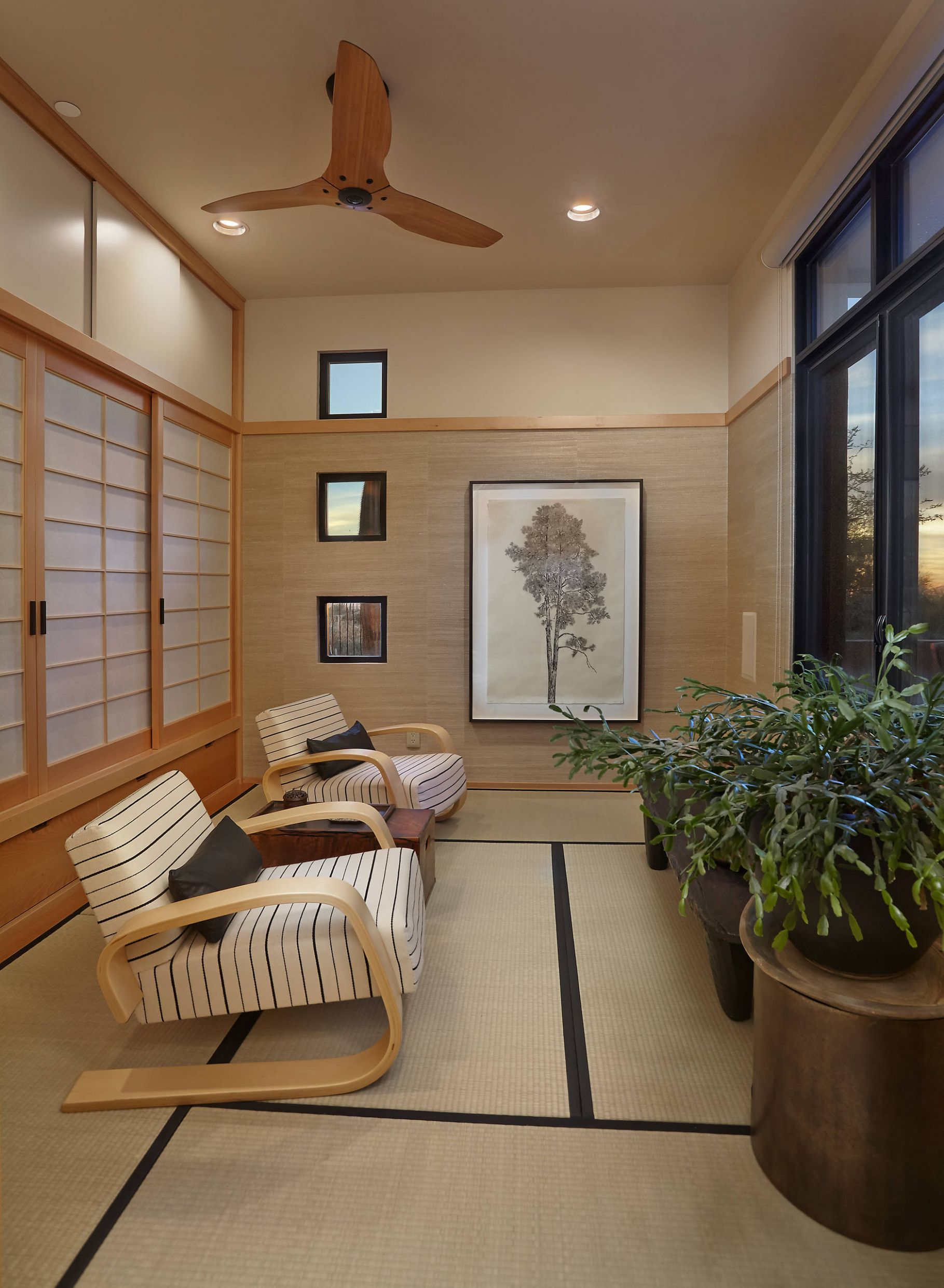 9 Beautiful Small Asian Sunroom Pictures & Ideas | Houzz - zen sunroom ideas