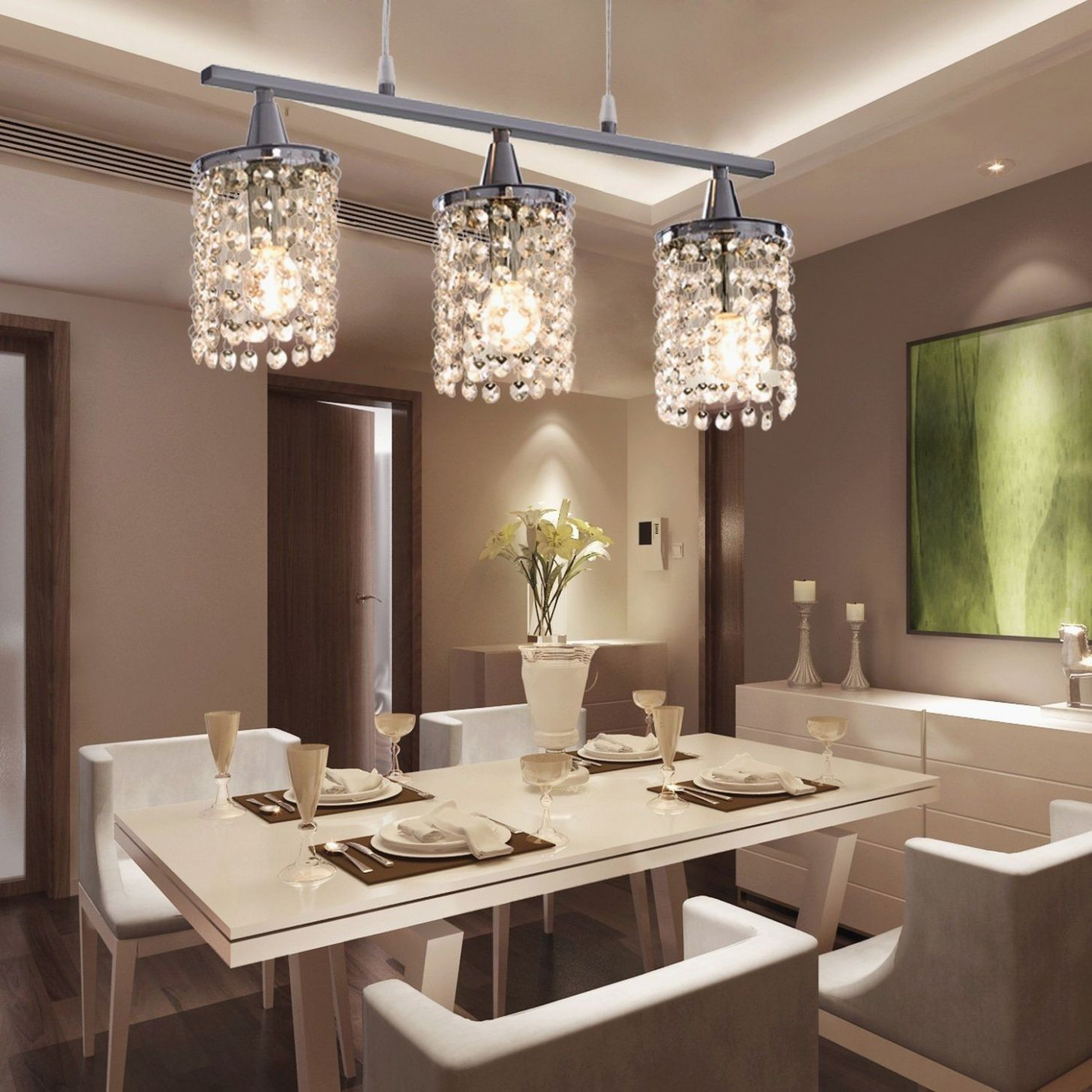 9+ Best Dining Room Lighting Ideas | Contemporary dining room ...