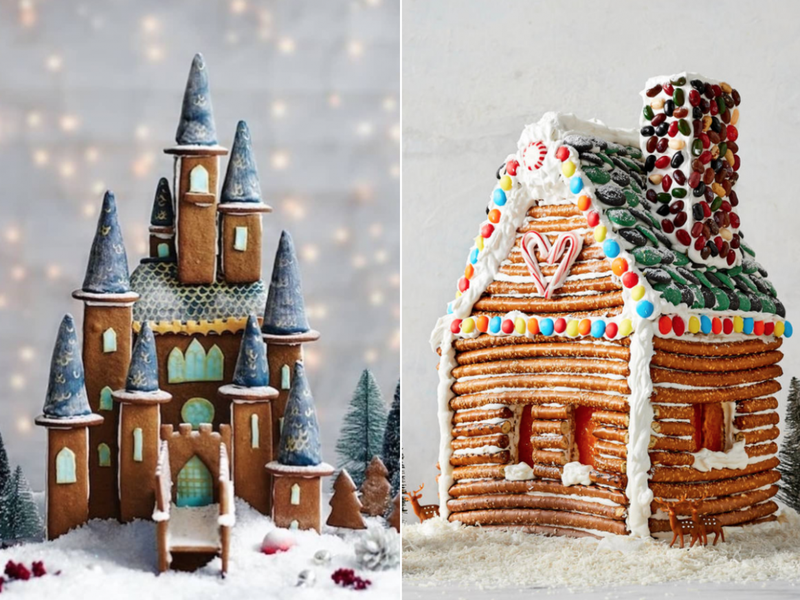 9 Best Gingerbread House Ideas the Internet Has to Offer | MyRecipes - gingerbread house inspiration