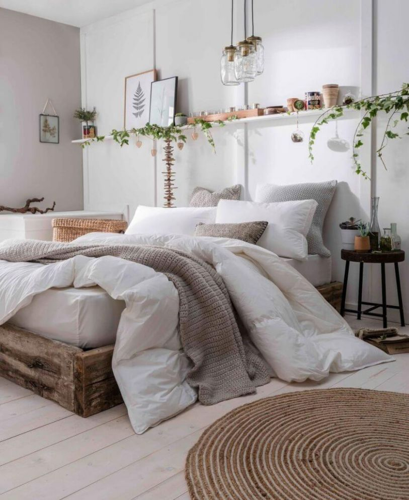 9 Best Natural Home Decor Ideas for Every Room in 9 - bedroom ideas nature