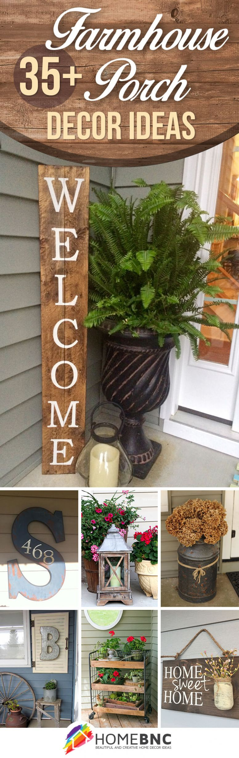 9 Best Rustic Farmhouse Porch Decor Ideas and Designs for 9 - front porch country decor