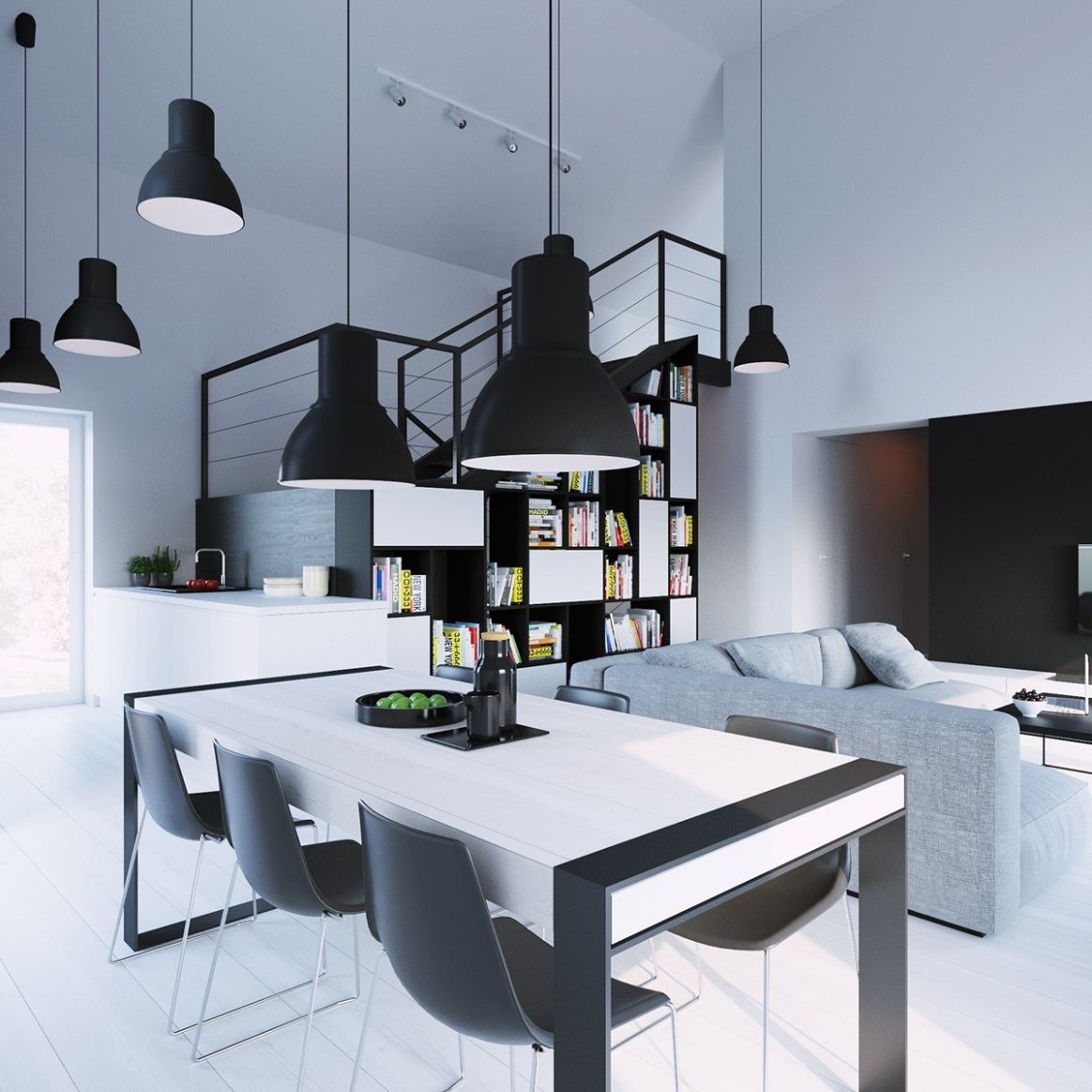 9 Black & White Dining Rooms That Work Their Monochrome Magic