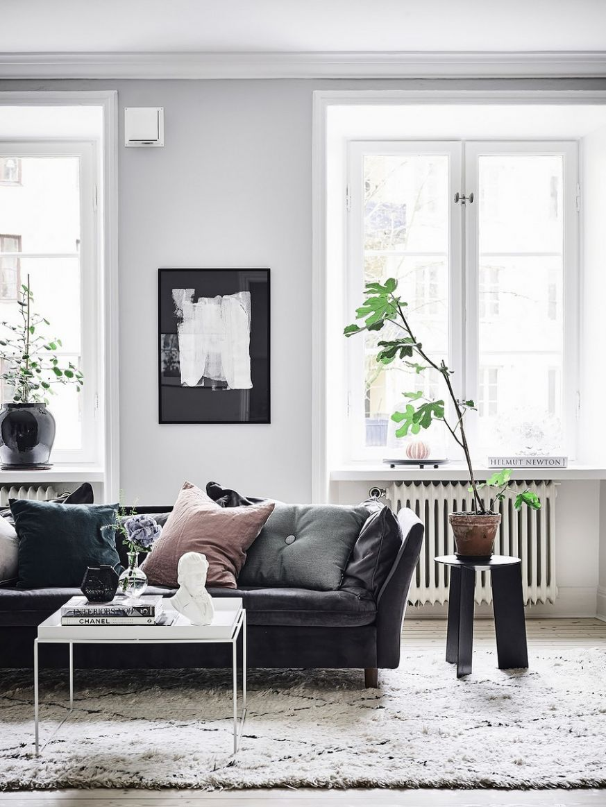 9 Black Leather Sofas Perfect For Your Living Room Decor – Home ...