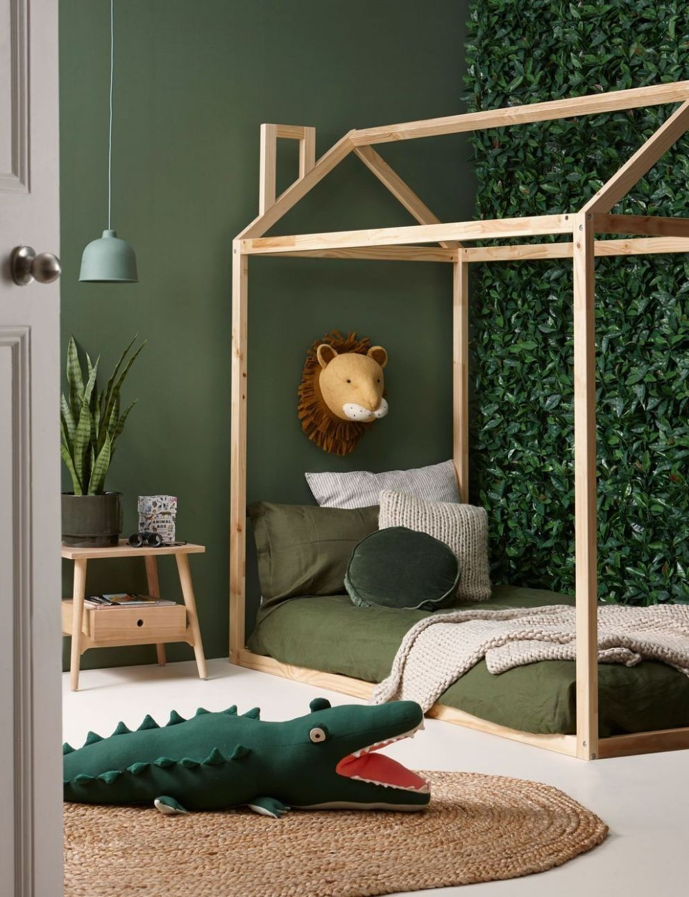 9+ Charming Kids Bedroom Ideas With Jungle Theme To Try | Kids ..