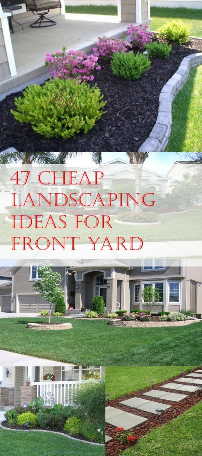 9 Cheap Landscaping Ideas For Front Yard | Cheap landscaping ..