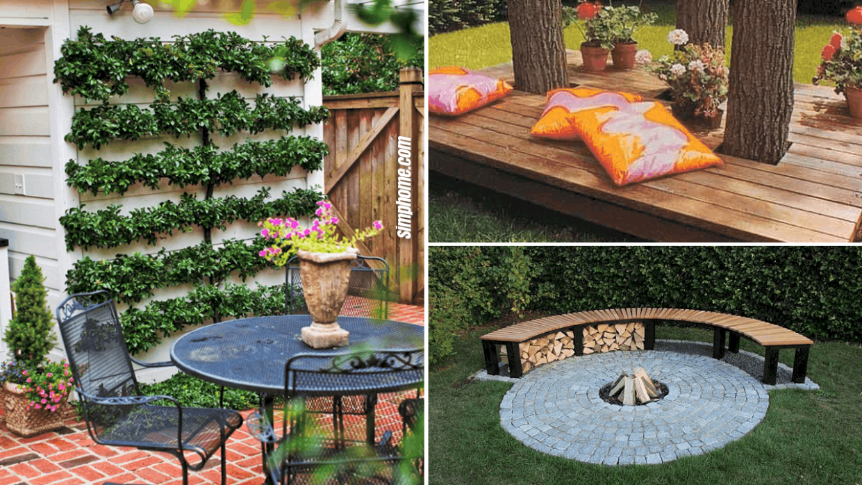9 Cheap Landscaping ideas for Small Backyards - Simphome