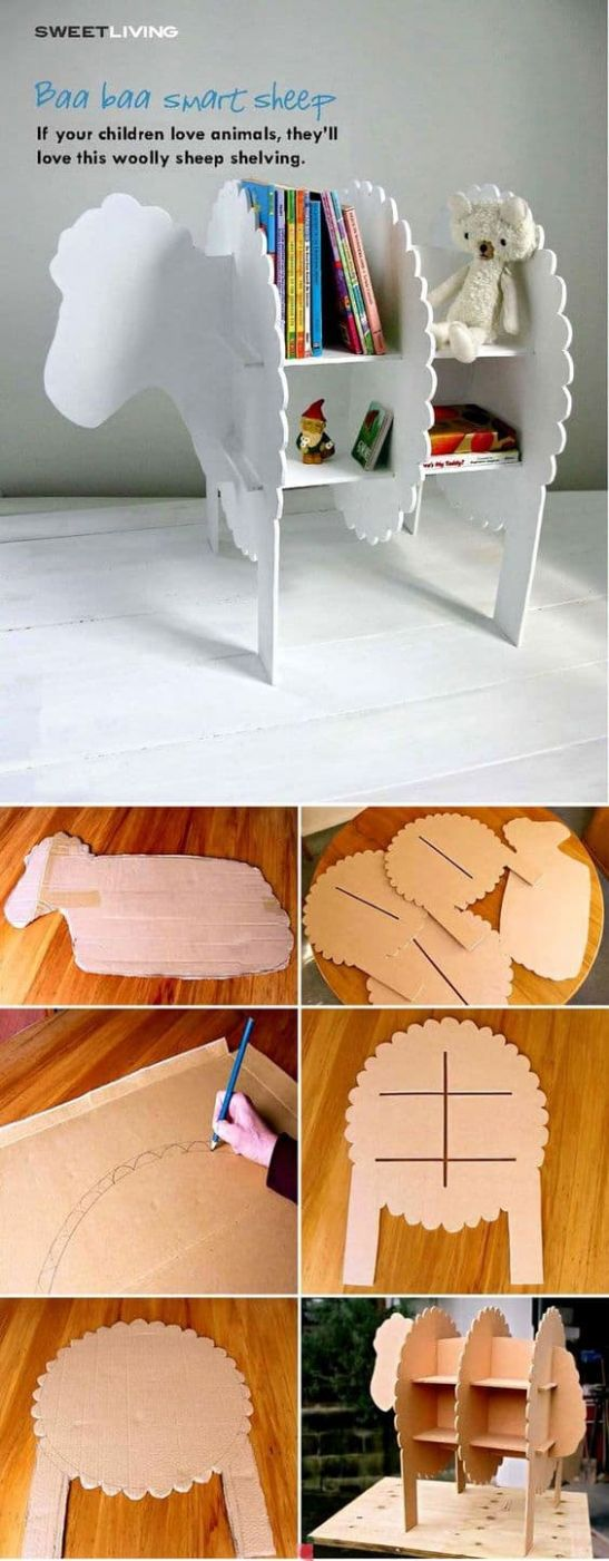 9 Clever DIY Ways To Use Cardboard In Your Home Decor ...