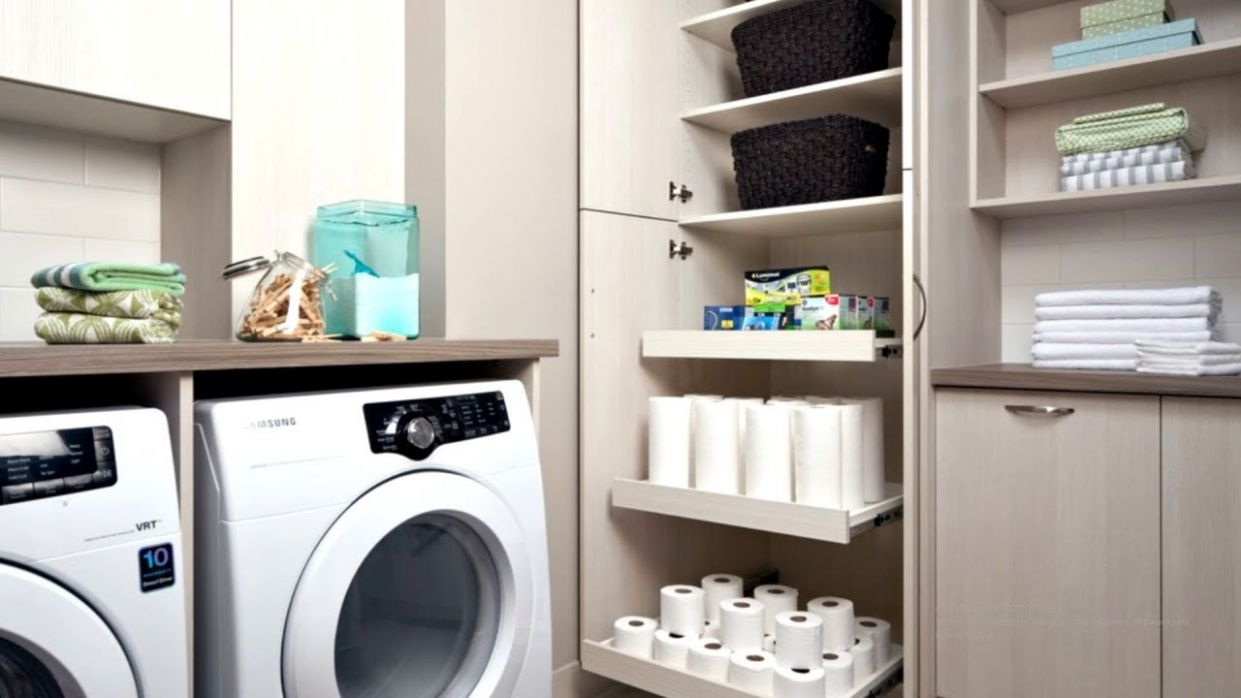 9 Clever Laundry Room Storage Ideas