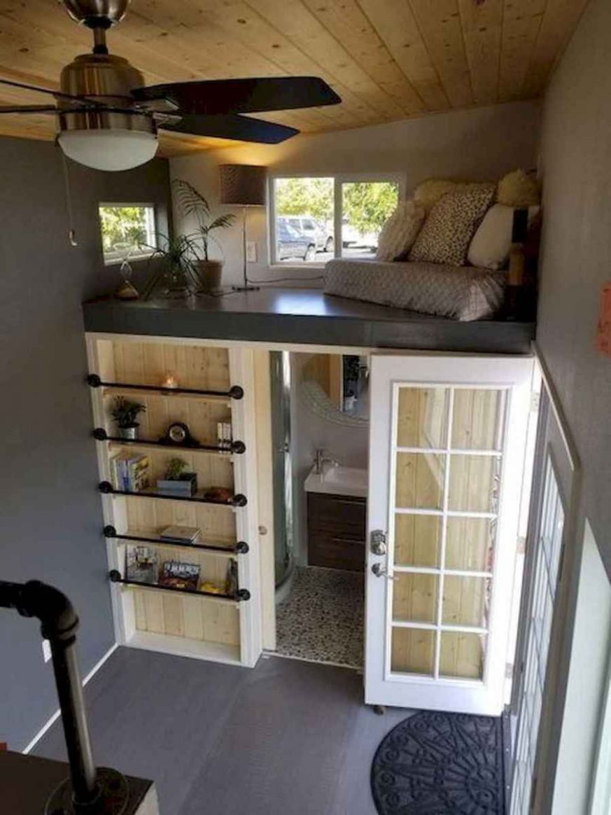 9 Clever Tiny House Interior Design Ideas - DoitDecor - tiny house interior ideas