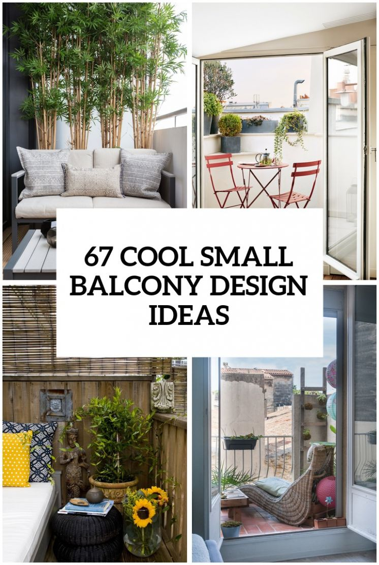 9 Cool Small Balcony Design Ideas - balcony ideas for home