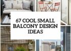 9 Cool Small Balcony Design Ideas