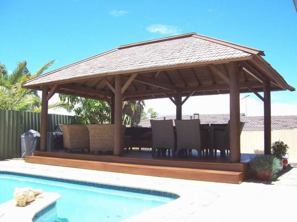 9+ Dazzling Pool Gazebo Ideas That Everyone Must Know (Diverse ...