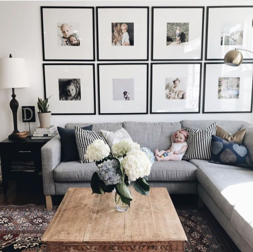9+ Decorating Ideas For Blank Wall Behind Couch (9) | Room wall ...