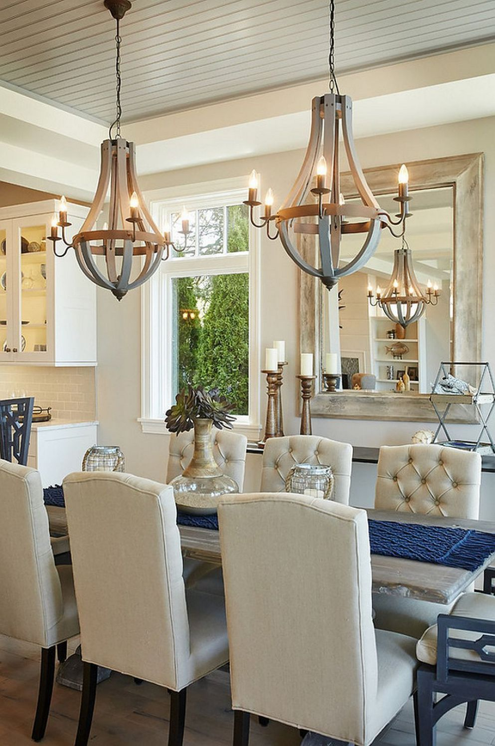 9 Dining Room Arrangement Ideas 9 | Dining room lighting, Dining ..