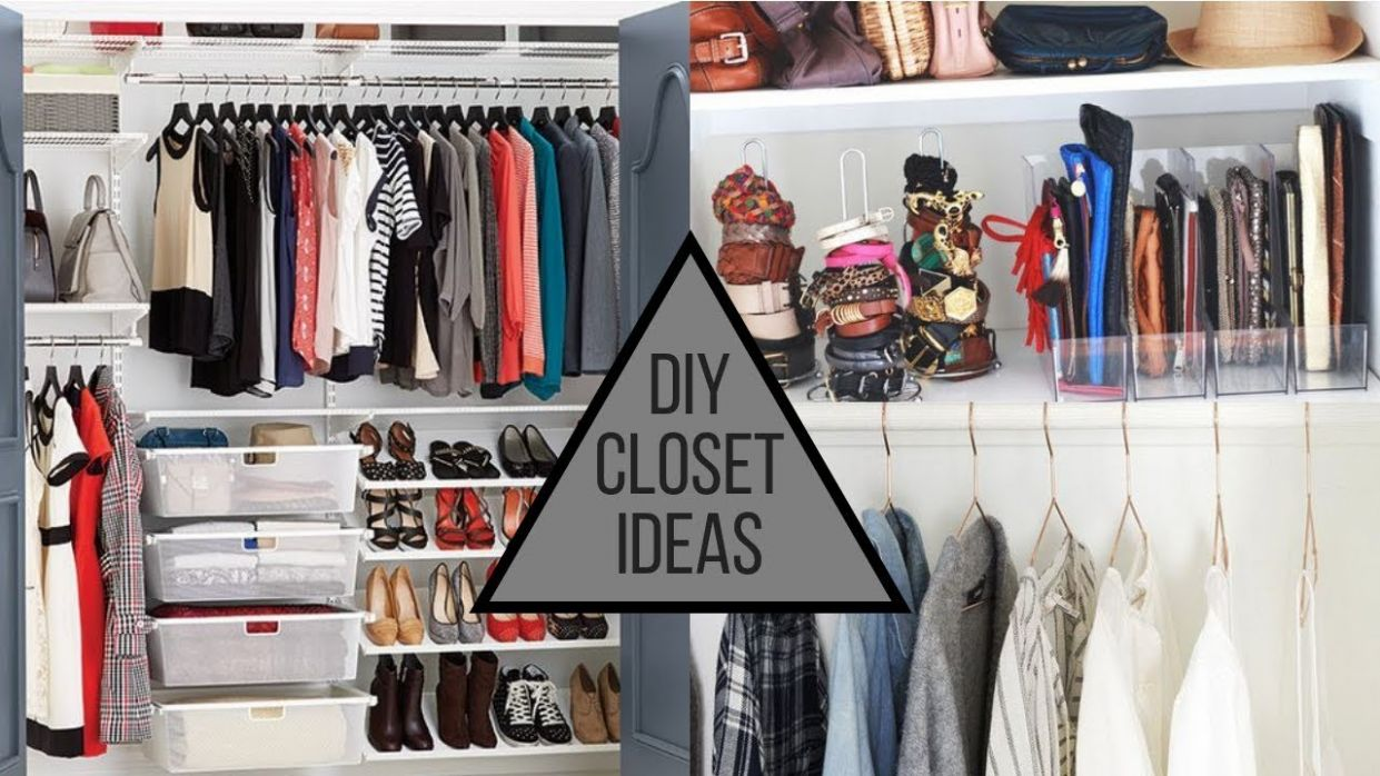 9 DIY Closet & Room Hacks - How To Organize Your Closet Space - closet room ideas diy