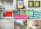 9 DIY Wall Decorating Ideas To Do Makeover of Boring Walls