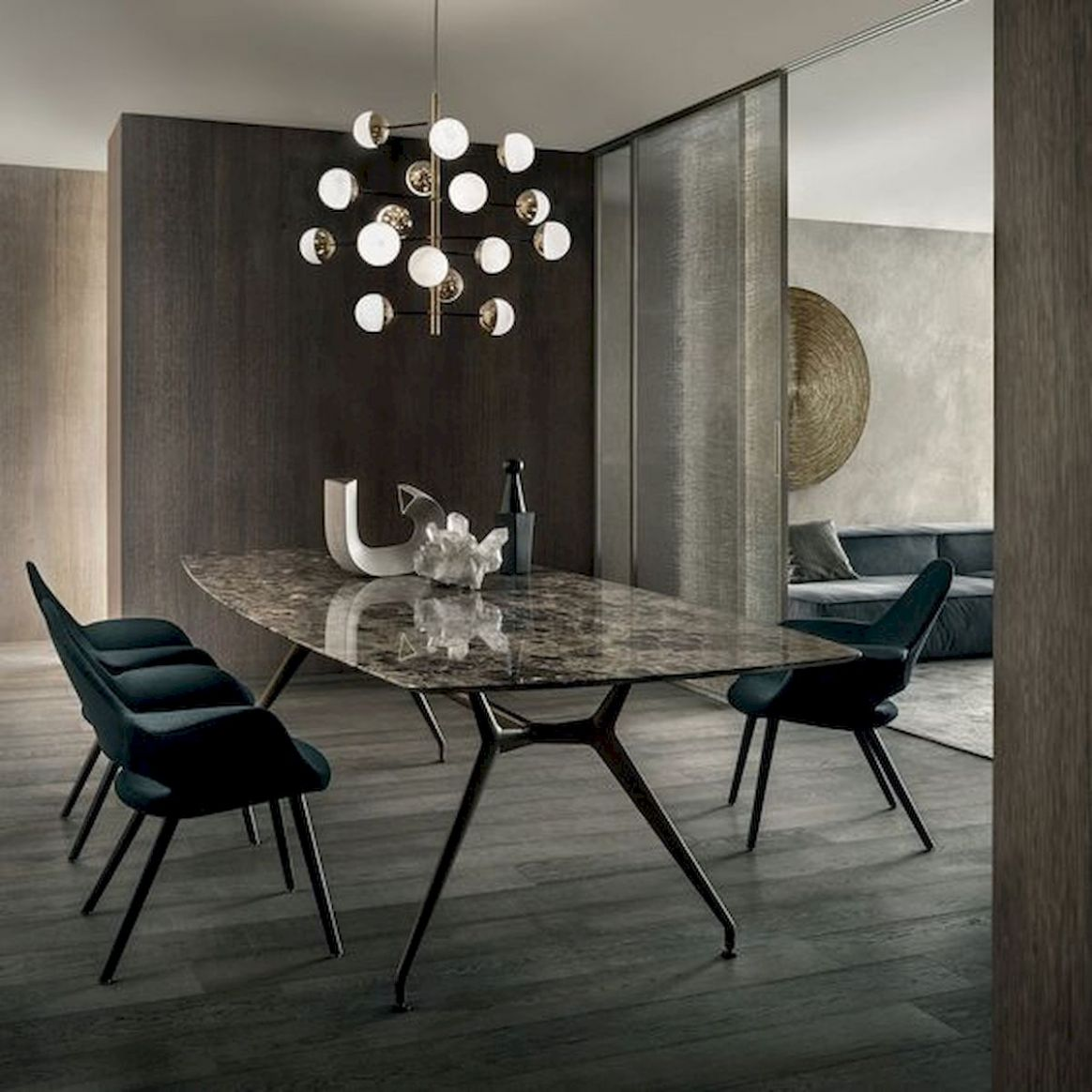 9 Elegant Modern Dining Room Design and Decor Ideas - house955