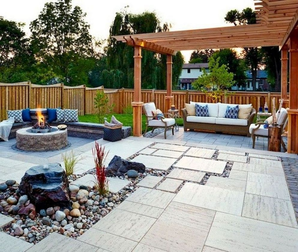 9+ Enchanting Backyard Patio Remodel Ideas To Try - HOMYRACKS - backyard remodel ideas