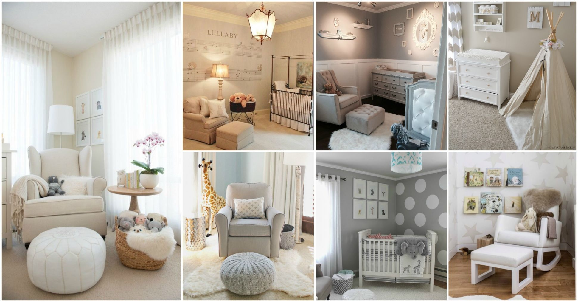 9 Extremely Lovely Neutral Nursery Room Decor Ideas That You Will ..