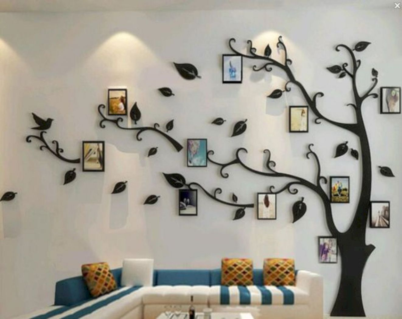 9 Fabulous Decorating Ideas Using Wall Stickers | Family tree ..