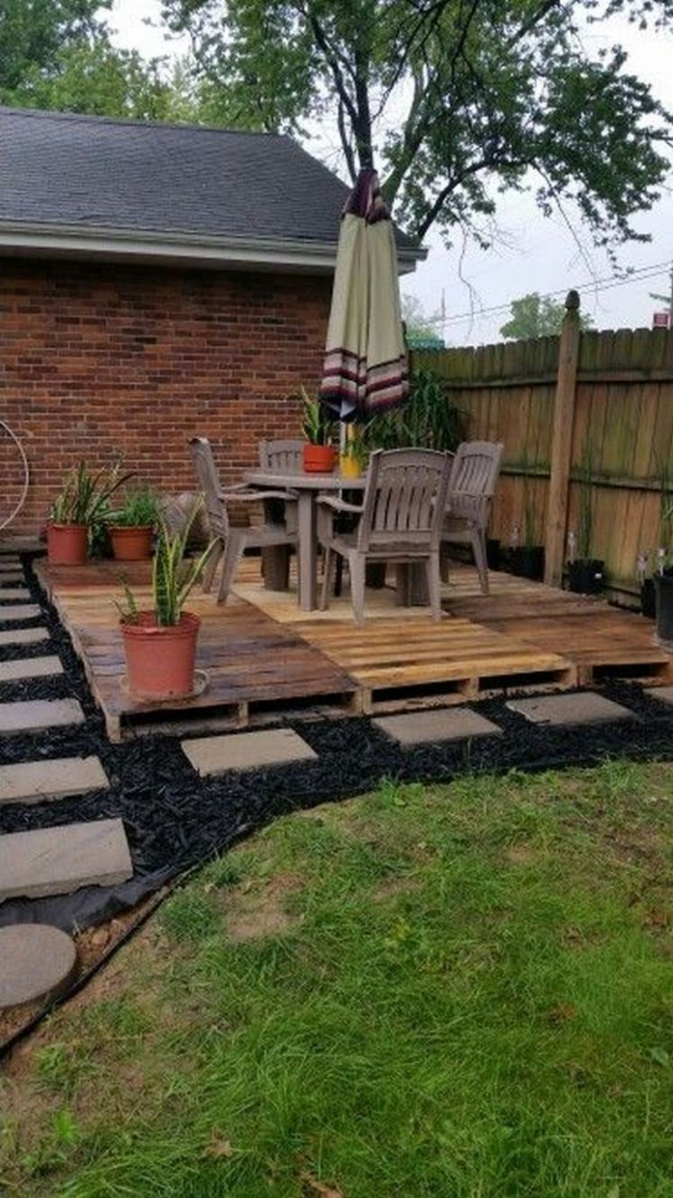 9+ Famous Garden Ideas Pallet | Backyard, Backyard seating ..