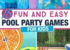 9 Fun Pool Party Games for Kids | Pool party games, Pool party ...