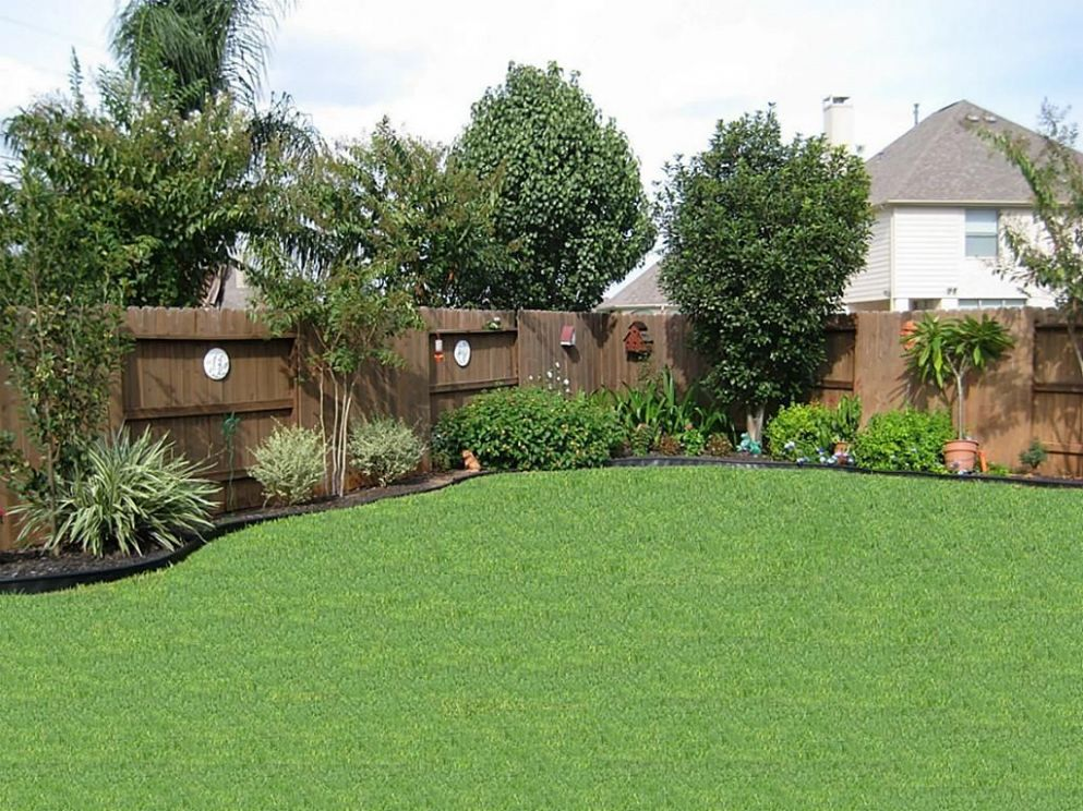 9 Genius Concepts of How to Landscape Backyard | Privacy fence ..