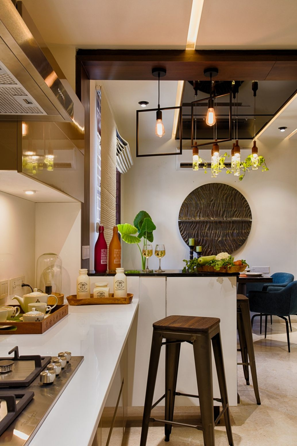 9+ Indian Kitchen Design Images from Real Homes - laundry room ideas india