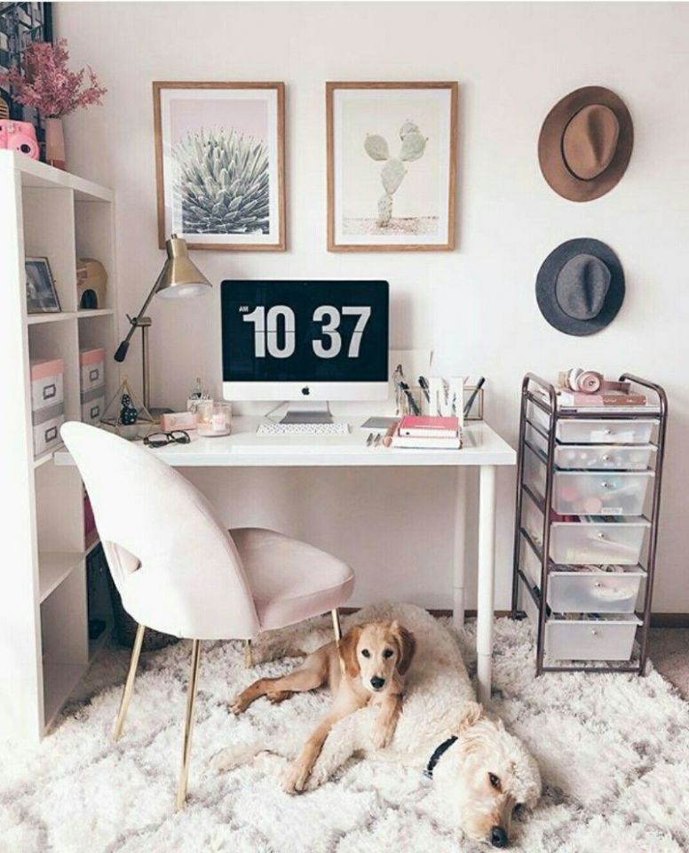 9 Inspirational Home Office Decor Ideas For 919 - home office makeover ideas